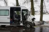 Kramkowo. Wypadek busa. Trzy osoby ranne (zdjęcia)