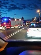 Uwaga! Wypadek w Bobrownikach. DK 11 zablokowana