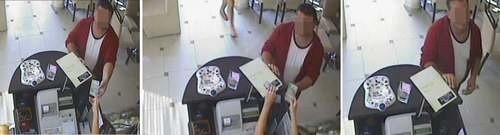 Oszust ukradł ekspedientce 90 złotych. Jak? To pokazuje film z monitoringu.