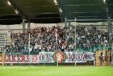 Podczas meczu w Legnicy piłkarze ŁKS mogli liczyć na swoich fanów