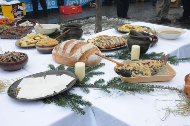 Potrawy na wigilijny stół - zdjęcie ilustracyjne