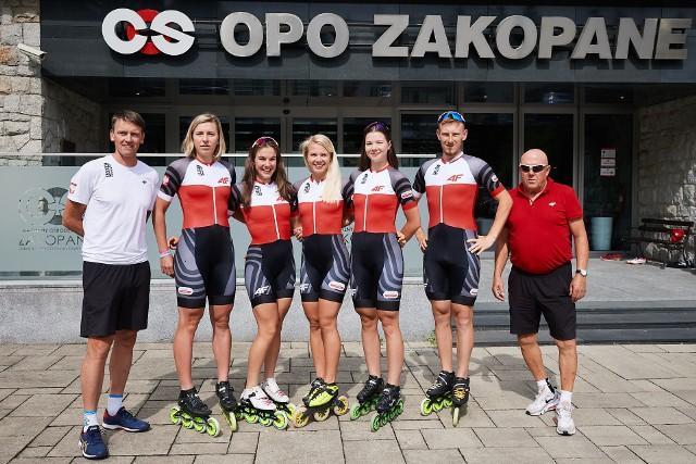 Polskie łyżwiarki szybkie przygotowują się do sezonu pod Tatrami