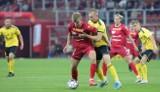 Bartosz Guzdek, piłkarz Widzewa zdobył gola, ale jest niezadowolony ze swojej dyspozycji