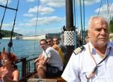 """Statki """"Białej Floty"""" w Solinie oblegane przez turystów"""