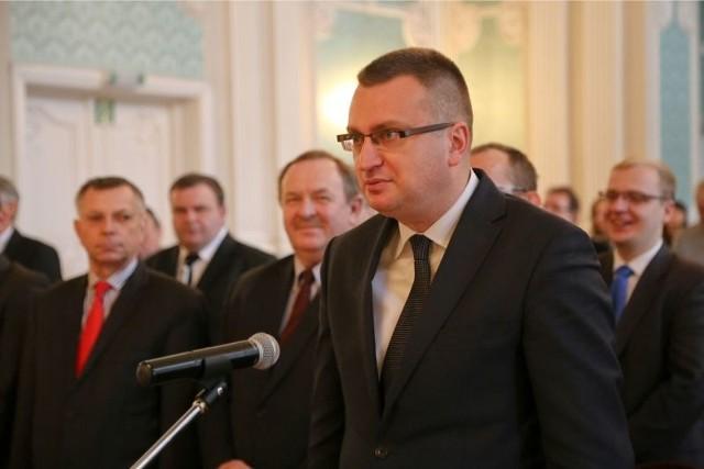 Rafał Rudnicki opuścił klub PiS i został wiceprezydentem Białegostoku