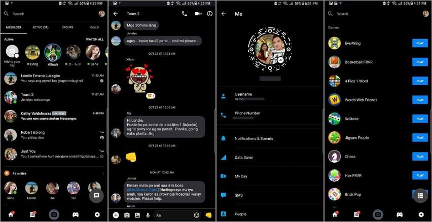 Ciemny motyw Messenger i Facebook  Podpowiadamy, jak go włączyć