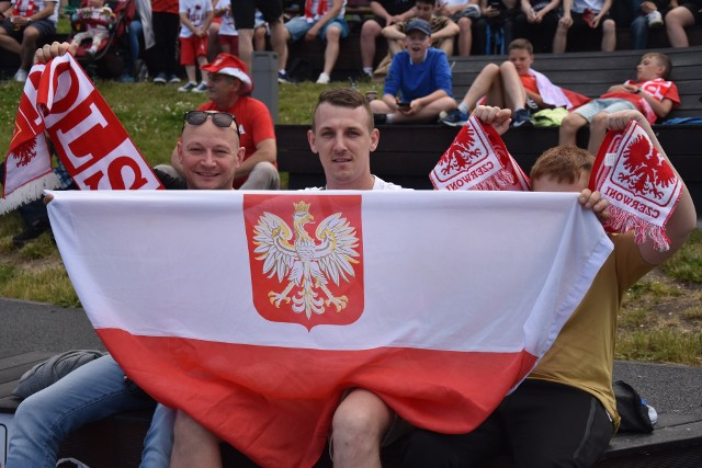 Kibice reprezentacji tłumnie przyszli wspierać biało-czerwonych na OWN-ie.