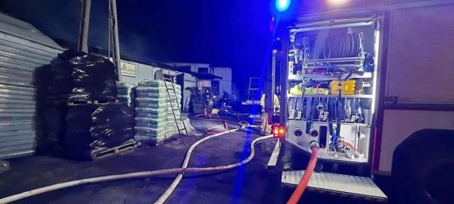 Późnym wieczorem, 28 lipca, wybuchł pożar w składzie węgla w Turznie