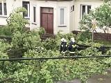 Potężna nawałnica nad powiatem skarżyskim. Zerwane dachy w Lipowym Polu, połamane drzewa w Suchedniowie, zniszczenia w Skarżysku [ZDJĘCIA]
