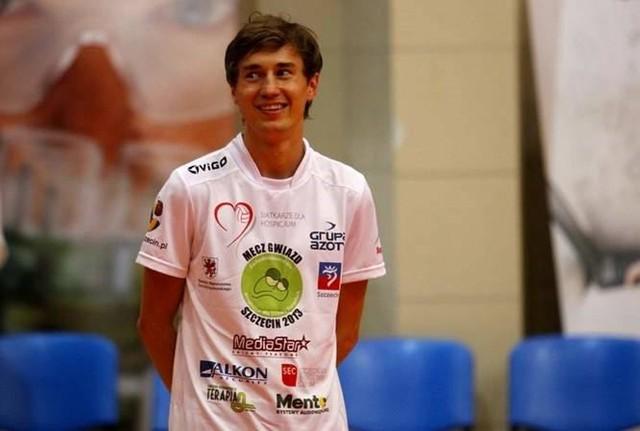 Kamil Stoch też przyjeżdżał do Szczecina na Mecz Gwiazd.