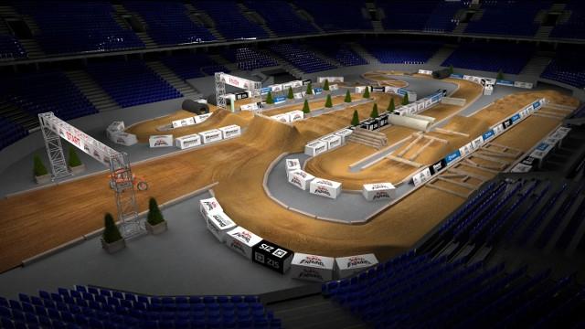 Wizualizacja toru na mistrzostwa świata w SuperEnduro