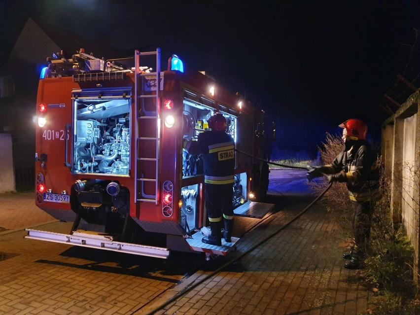 W czwartek około godz 20:30 doszło do pożaru w kotłowni...