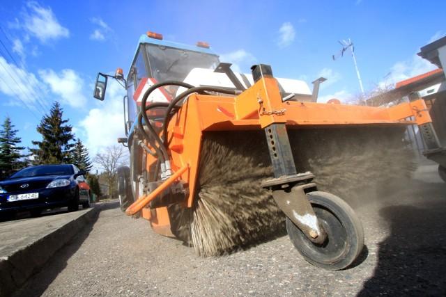 Sprzątanie miasta po zimie rozpocznie się w połowie marca