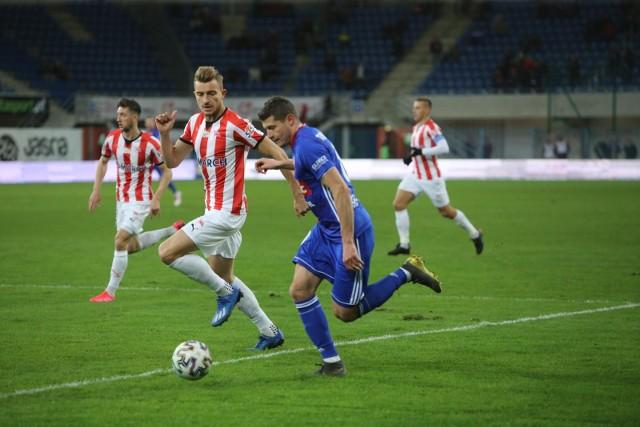 W lutowym meczu Cracovia przegrała z Piastem 0:1
