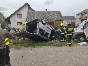 Wypadek w Dzbeninie, 28.08.2020