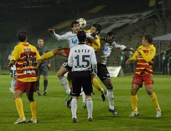 Jagiellonia zremisowala z Legią 1:1 w meczu Pucharu Ekstraklasy
