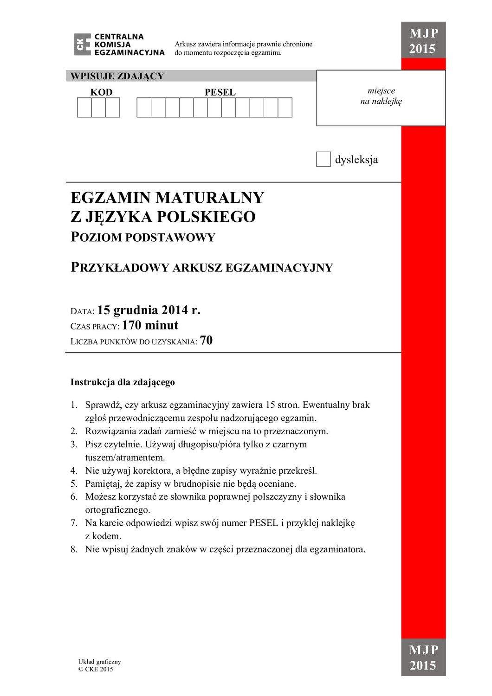 próbna matura 2021 cke polski