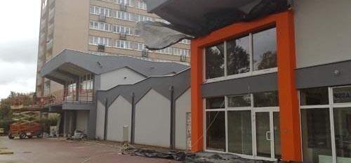Intermarche w Koszalinie powstaje w miejscu byłego Nojka.