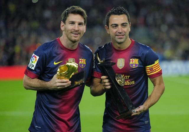 Messi i Xavi
