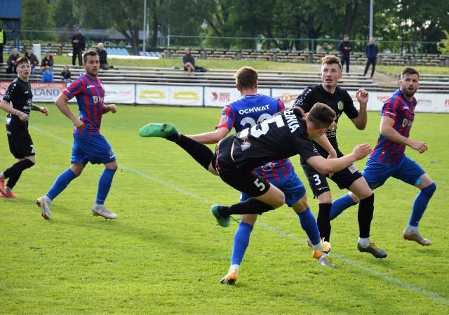 Piłkarze Lechii Zielona Góra przegrali z Polonią Bytom 1:4.