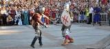 Rocznica bitwy pod Grunwaldem. Walki rycerskie na Rynku Kościuszki (zdjęcia x 2)