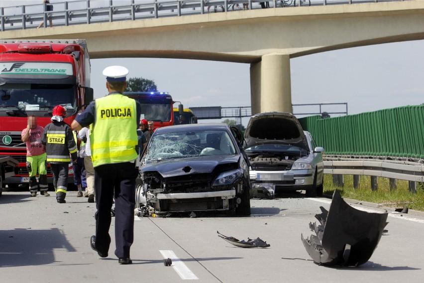 Wypadek na A4/zdjęcie ilustracyjne