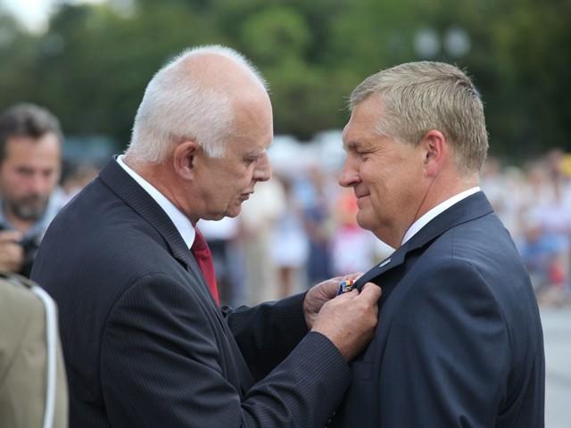 Tadeusz Truskolaski został odznaczony odznaką
