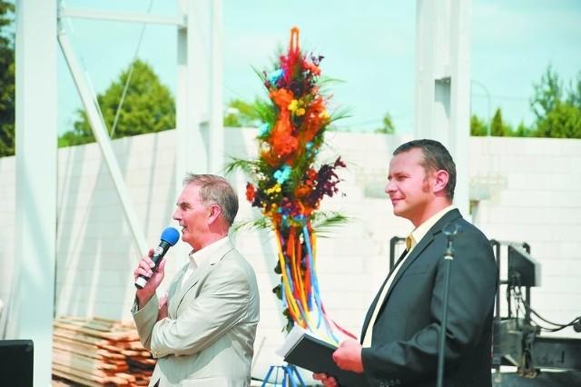Jan Mikołuszko, prezes Unibepu (z lewej) i Marcin Gołębiewski, dyrektor rynku norweskiego Unihouse myślą o podboju kolejnych rynków zagranicznych