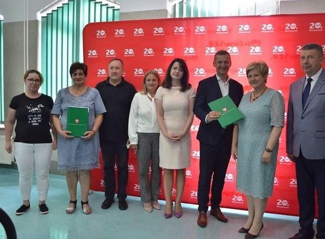 Podpisanie umów na dofinansowanie projektów z Mazowieckiego Instrumentu Aktywizacji Sołectw