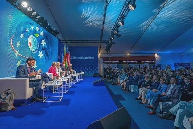 Krynica-Zdrój żegna się z Forum Ekonomicznym na dobre