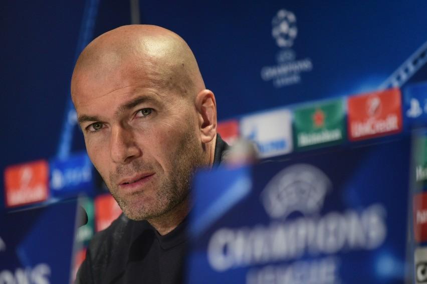 """""""Ta sytuacja jest absurdalna. Dalej gramy w Lidze Mistrzów, bo mamy do tego prawo"""". Zidane o możliwości wykluczenia Realu z Champions League"""