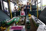 Festyn MPK na zajezdni Franowo: Elektryczne autobusy, zwiedzanie zajezdni i pojazdy z klocków lego [ZDJĘCIA]