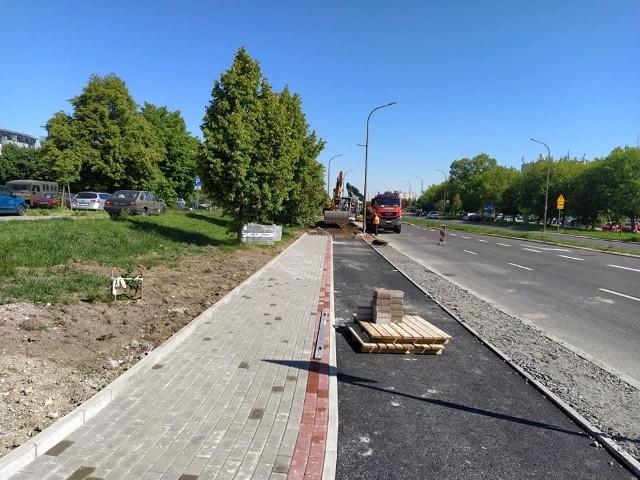 Budowa trasy rowerowej wzdłuż al. Witosa w Opolu