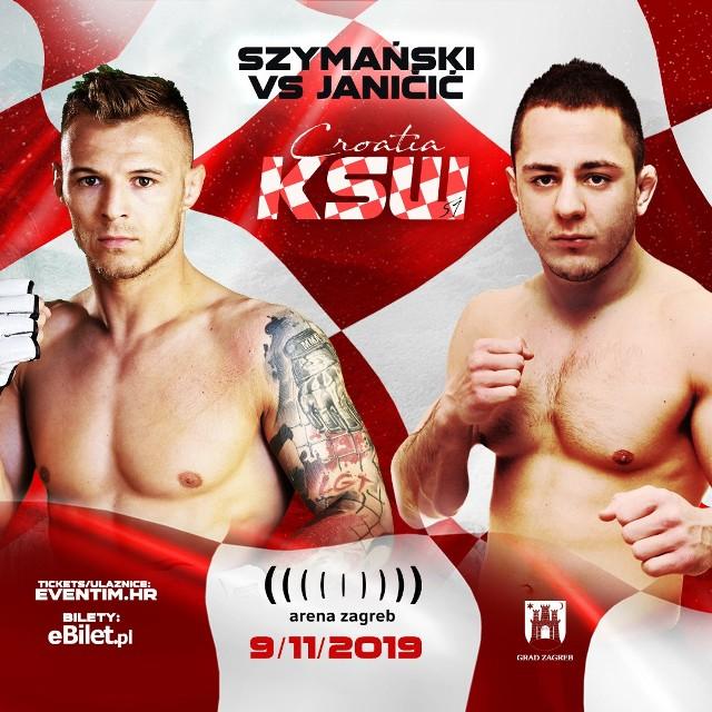 Roman Szymański 9 listopada w Zagrzebiu stoczy jedną z najtrudniejszych walk w swojej karierze