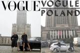 Vogue Polska: Okładka stała się hitem internetu! Graficy komentują i przerabiają to zdjęcie: Anja Rubik, Małgosia Bela i Pałacu Kultury