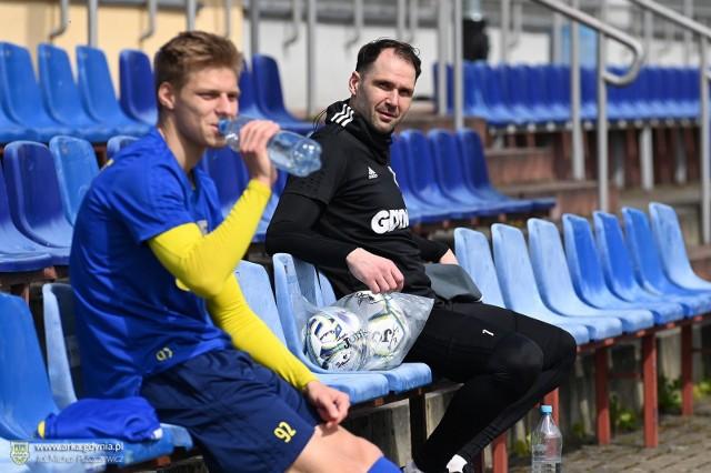 Piłkarze Arki Gdynia w Gniewinie będą trenować przez pięć dni