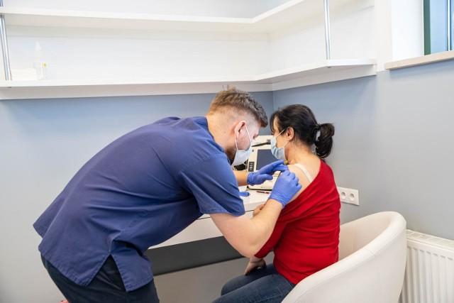 Punkt szczepień w Centrum Medycznym REVITA.