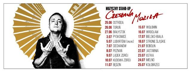 Czesław Mozil wyruszył w pierwszą po przerwie trasę koncertową