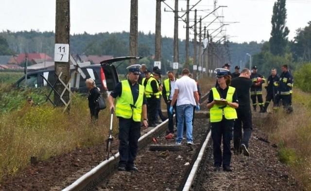 Odolanów: Ciągnik uderzył w lokomotywę. Nie żyje kierowca