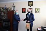 Wicepremier Jarosław Gowin w Pszczółkach i Trąbkach Wielkich. O czym rozmawiał z samorządowcami?