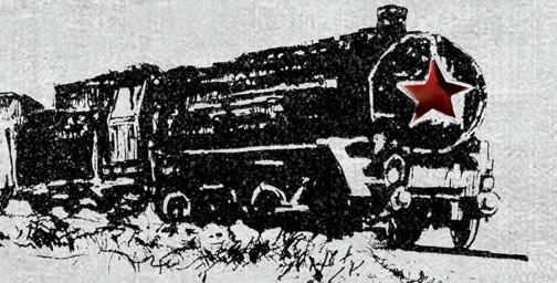 """Oryginalny pociąg z lat 30. będzie jednym z rekwizytów rekonstrukcji """"Na nieludzką ziemię""""."""