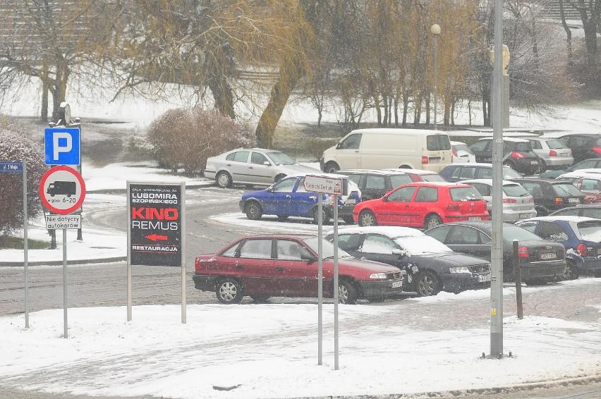 Mamy pierwsze w tym roku opady śniegu