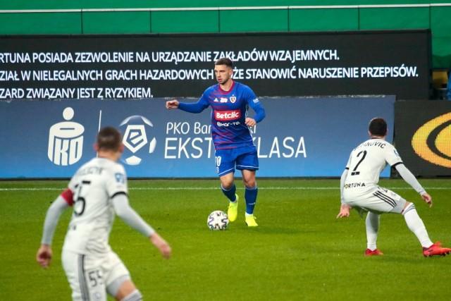 Jakub Świerczok wybrany piłkarzem miesiąca w PKO Ekstraklasie