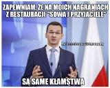 Afera taśmowa: Taśmy Morawieckiego MEMY Morawiecki podsłuchany w restauracji Sowa i Przyjaciele MEMY