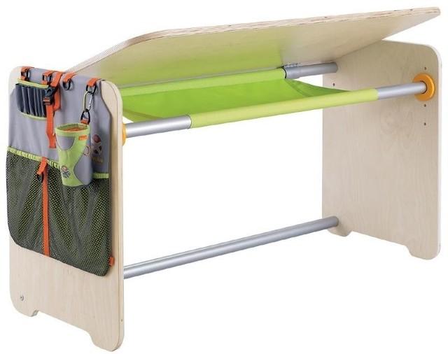Wysokość biurka można regulować na 59, 64, 71 oraz 77 cmWysokość biurka jest regulowana, dzięki temu mebel można dostosować do wzrostu użytkownika.