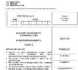 MATURA 2014 INFORMATYKA (POZIOM ROZSZERZONY) [ARKUSZ CKE, PYTANIA]