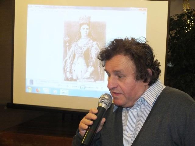 Ciekawy wykład o historii Starachowic i okolicy wygłosił doktor Krzysztof Gębura, z Katolickiego Uniwersytetu Lubelskiego