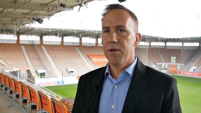 Piotr Burlikowski, dyrektor pionu sportowego Zagłębia Lubin
