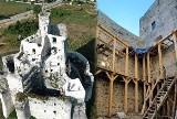 Zamek w Mirowie coraz piękniejszy. Rewitalizacja jest zaawansowana. Zobacz zdjęcia