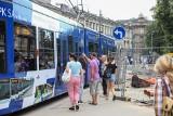 Kraków. Tramwaje nie przejadą przez ulicę Dietla, czyli będą nowe utrudnienia [ZDJĘCIA]
